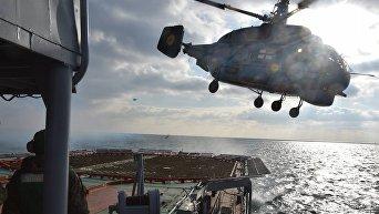 ВМС провели тактические учения в Черном море с использованием средств поражения