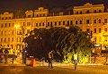 Главная елка Украины доставлена на Софийскую площадь в Киеве