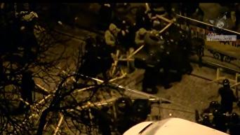 Появилась полная версия полицейского рейда на городок Саакашвили. Видео