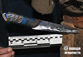 Нож, которым сын зарезал мать на Прикарпатье