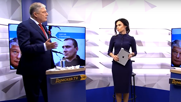 Теледебаты Червоненко и Стерненко