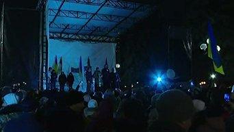 Вече Саакашвили под Радой