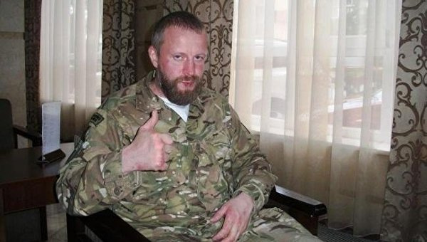 Бывший боец Донбасса, беларус Игорь Клевко