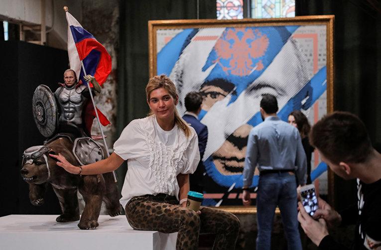 В столице России  открыли выставку SUPERPUTIN