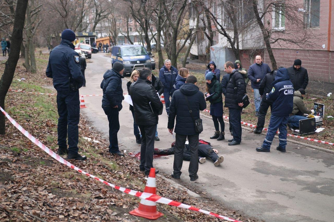 ВДнепре нажилмассиве «Тополь» мужчину убили выстрелом вголову