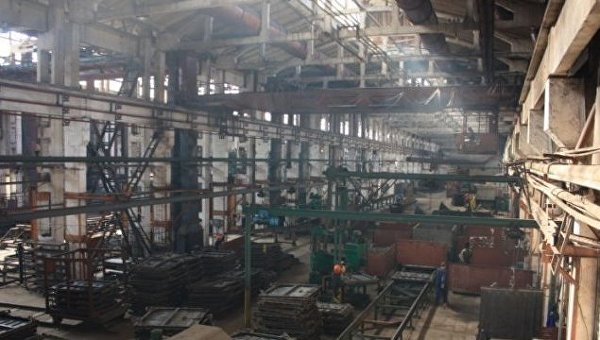 Цех Стрыйского вагоноремонтного завода
