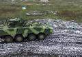 По стандартам НАТО. Появились кадры испытания нового украинского БТР. Видео