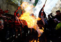 Протесты против решения признать Иерусалим столицей Израиля