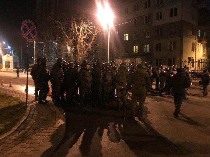 Во время задержания Саакашвили правоохранителями