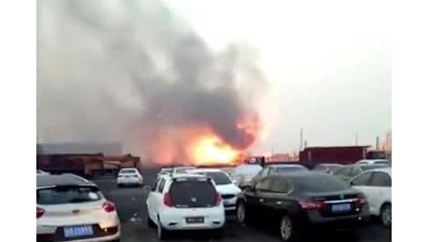 Два человека погибли при взрыве нахимическом предприятии вКитайской республике