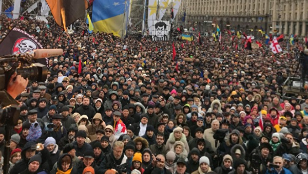 Марш за импичмент в Киеве