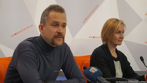 Гражданин России Алексей Шумак с супругой