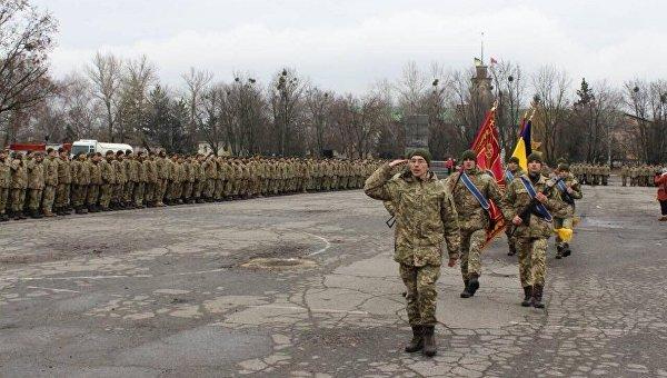 Военнослужащие 92-й отдельной механизированной бригады ВСУ