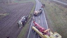 Танки грязи испугались: американская военная техника застряла в Польше. Видео