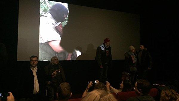 В российской столице грозили организаторам показа фильма овойне вгосударстве Украина