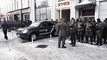 Ситуация под судом, где будет избираться мера пресечения Михаилу Саакашвили