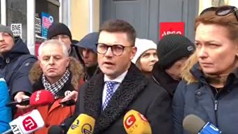 Адвокат Саакашвили Руслан Чернолуцкий о ситуации утром, 11 декабря 2017