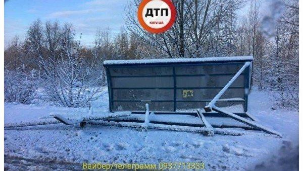 Остановка транспорта обрушилась в Киеве