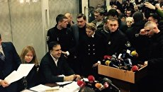 Саакашвили в суде