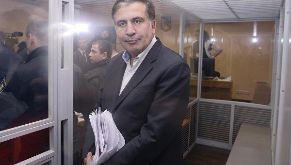 Михаил Саакашвили в суде