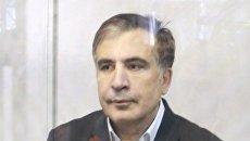 Суд и дело. Как военнопленный Саакашвили спел гимн Украины. Видео