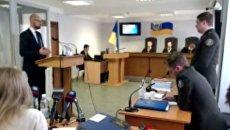 Арсений Яценюк в суде по делу Януковича