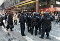 Полиция на месте ЧП на Манхеттене