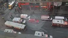 Появились первые кадры с места взрыва в Нью-Йорке. Видео