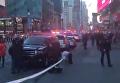 На месте взрыва на Манхэттене