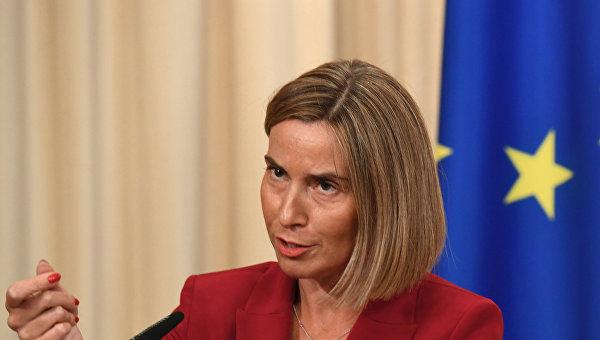 Высокий представитель ЕС по иностранным делам и политике безопасности, заместитель председателя Европейской комиссии Федерика Могерини. Архивное фото