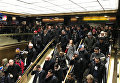 Ситуация в метро после взрыва в Нью-Йорке, 11 декабря 2017