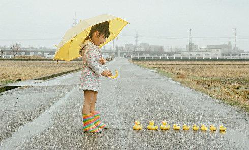 Японский фотограф Тоёкацу Нагано делает потрясающие снимки свой дочери