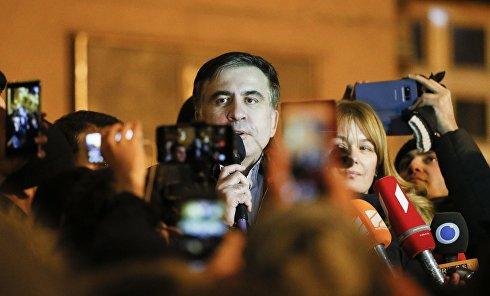 Михаил Саакашвили после решения суда