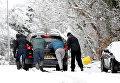 Англию накрыл рекордный снегопад