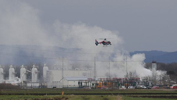 Стала известна причина взрыва нагазопроводе вАвстрии