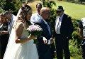 Джамика Маккарти на свадьбе