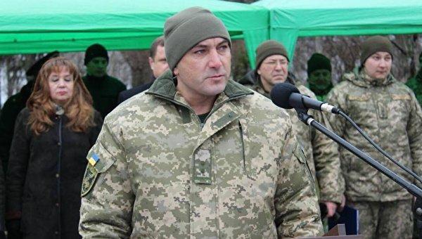 Командир 92 бригады Владимир Кокорев
