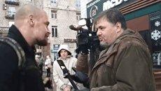 Нападение на Руслана Коцабу. Видео