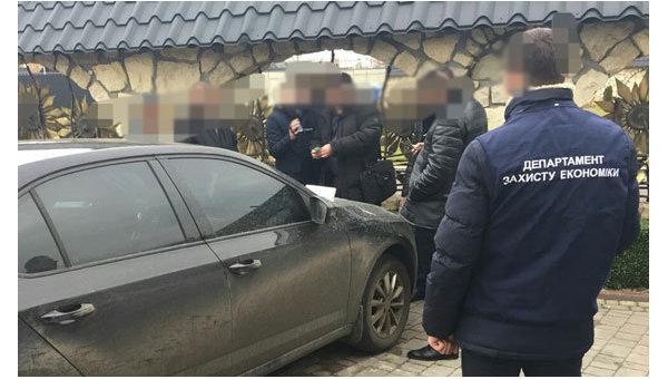 Задержание мэра во Львовской области на взятке