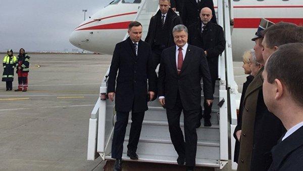 Анджей Дуда прибыл в Харьков