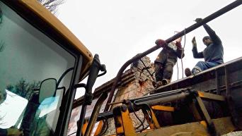 Ситуация в ДНР после обстрелов. Архивное фото
