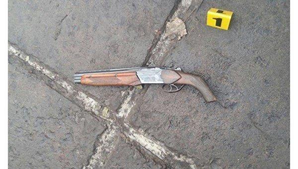 Обрез, из которого выстрелили в мэра Белозерского