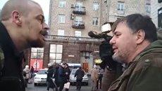 Драка Алексея Быка и Руслана Коцабы