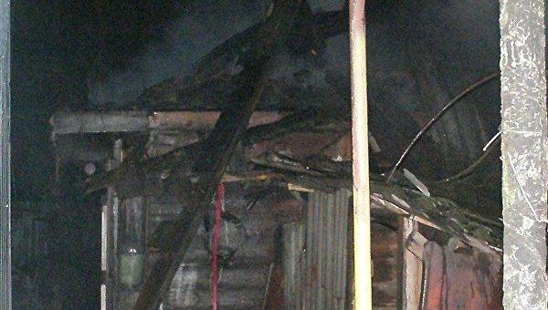 Вовремя пожара вКиевской области найдено мужское тело