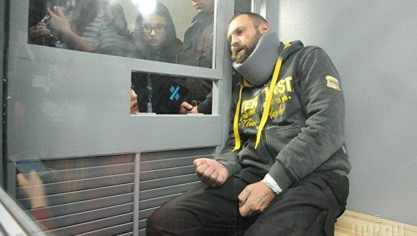 Подозреваемый в смертельном ДТП Геннадий Дронов во время заседания суда