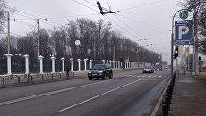 Кортеж президента Польши в Харькове