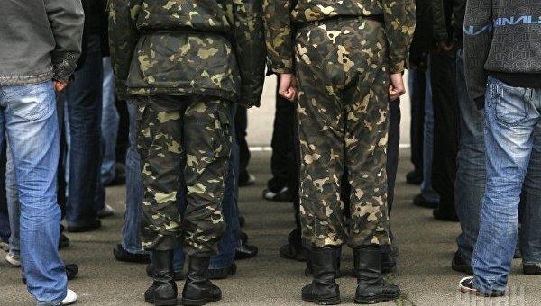 Призыв на военную службу. Архивное фото