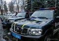Миссия ЕС передала Нацполиции Украины 30 внедорожников