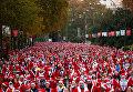 Традиционный забег Санта-Клаусов в Мадриде