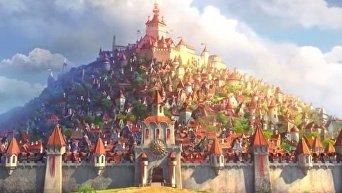 На Youtube опубликован первый трейлер украинского анимационного фильма Похищенная принцесса: Руслан и Людмила.